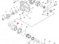 Корпус дифференциала приводного моста трактора Challenger — 7500470801