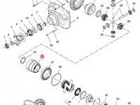 Корпус дифференциала приводного моста трактора Massey Ferguson — 7500472501