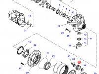 Планетарная (сателлитная) шестерня бортового редуктора трактора Challenger — 7500600903