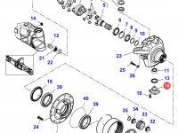 Шкворень моста трактора Massey Ferguson — 7500603604
