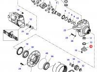 Шкворень моста трактора Challenger — 7500603604