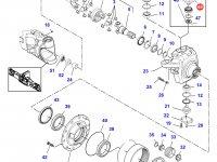 Шкворень моста трактора Challenger — 7500604501