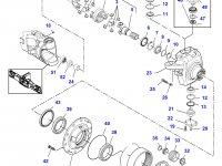 Ступица бортового редуктора переднего моста трактора Challenger — 7500604901