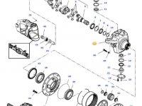 Правый поворотный кулак моста трактора Challenger — 7500605001