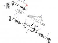 Шарнирный наконечник рулевой тяги трактора Massey Ferguson — 7502445024