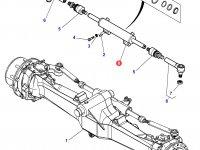 Рулевой цилиндр трактора Massey Ferguson — 7502462601