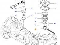 Датчик угла поворота колес трактора Massey Ferguson — 7502463801