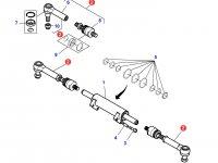 Рулевая тяга трактора Massey Ferguson (полный привод) — 7502464002