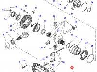 Дифференциал приводного моста в сборе для трактора Challenger — 7550440005