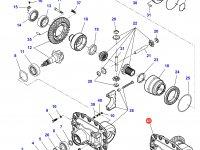 Дифференциал приводного моста трактора Massey Ferguson — 7550440006