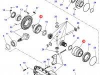 Корпус дифференциала приводного моста трактора Challenger — 7550470702