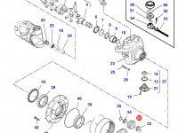 Планетарная (сателлитная) шестерня бортового редуктора трактора Challenger — 7550600801