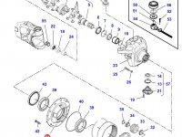 Ступица бортового редуктора переднего моста трактора Challenger — 7550605801