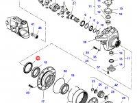 Сальник бортового редуктора переднего моста трактора Massey Ferguson — 7550608201