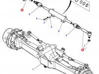 Рулевой наконечник трактора Challenger — 7552445004