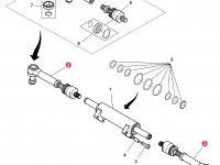 Рулевая тяга трактора Massey Ferguson (полный привод) — 7552463601