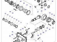 Дифференциал приводного моста в сборе для трактора Challenger — 7600440004
