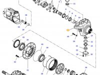 Правый поворотный кулак моста трактора Challenger — 7700602705