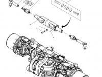 Рулевой наконечник трактора Massey Ferguson (тип 770/638) — 7702445012