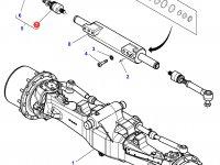 Шарнирный наконечник рулевой тяги трактора Challenger — 7702445013