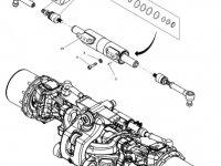 Шарнирный наконечник рулевой тяги трактора Massey Ferguson (тип 770/638) — 7702445013