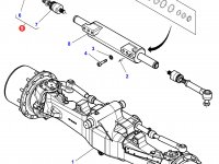 Рулевую тягу трактора Challenger — 7702461601