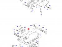 Интеркулер двигателя Sisu Diesel — 836759176