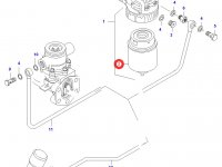 Топливный фильтр(грубой очистки) двигателя Sisu Diesel — 836862563