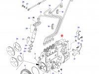 Топливный насос высокого давления (ТНВД) двигателя Sisu Diesel — 836740157