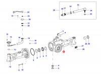 Чулок переднего моста трактора(правый) — 35028200