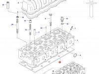 Прокладка ГБЦ двигателя Sisu Diesel — 836764156