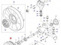 Шкив водяного насоса двигателя Sisu Diesel — 836766987