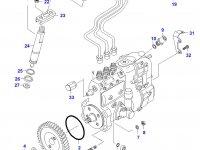 Трубка отвода топлива (топливоотвод) двигателя Sisu Diesel — 836436133