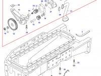 Масляный насос двигателя Sisu Diesel — 836322243