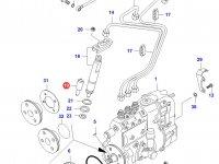 Распылитель топливной форсунки двигателя Sisu Diesel — 836639957