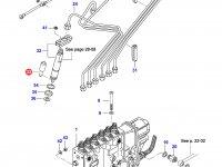 Распылитель топливной форсунки двигателя Sisu Diesel — 836854930
