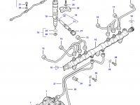 Трубка отвода топлива (топливоотвод) двигателя Sisu Diesel — 837069027