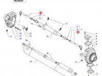 Наконечник рулевой тяги трактора — 34051700