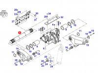 Вал рычагов навески трактора Challenger — 816860030110