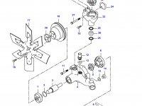 Термостат двигателя трактора (86 градусов) — 836659685