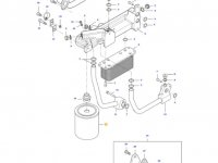 Масляный фильтр двигателя Sisu Diesel трактора Massey Ferguson — 836862582