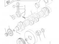 Поршень двигателя Sisu Diesel для трактора Challenger — 837074083