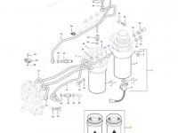 Комплект топливных фильтров двигателя трактора Massey Ferguson — 837079718