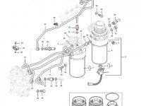 Комплект топливных фильтров двигателя трактора Massey Ferguson — 837086373