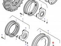 Вставка заднего колесного диска трактора — 34150400