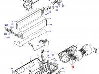 Вентилятор печки отопителя кондиционера кабины — 36635800
