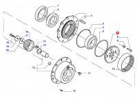 Солнечная шестерня редуктора моста — 35639500