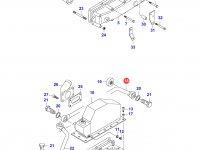Патрубок интеркулера двигателя Sisu Diesel — 836755848