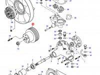 Шкив водяного насоса двигателя Sisu Diese — 836855510
