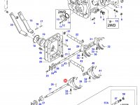 Вилка КПП трактора — 45357600